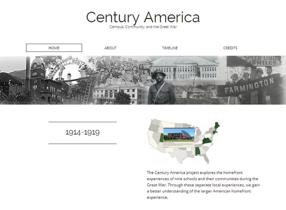 http://centuryamerica.org Century America Main Project Site